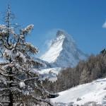 Zermatt matterhorn kylästä