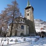 Zermatt kirkko
