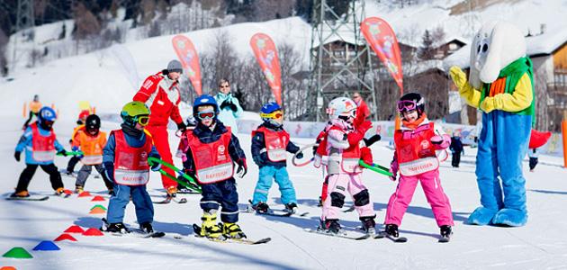 Leukerbad - hiihtokeskus