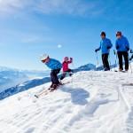 Leukerbad laskijat laskettelu laskettelukeskus hiihtokeskus
