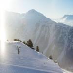 ischgl maisema vuoret hiihtoalue