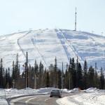 ylläs ski rinteet hiihtokeskus Äkäslompolo