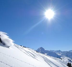 Gstaad - hiihtokeskus