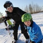 serena ski isä - poika