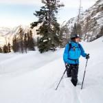 Krippenstein skiers off-piste