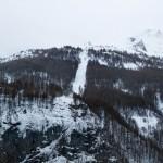 La grave hiihtokeskus hissilinja