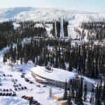 hotelli luostotunturi ilmakuva Lapland hotels