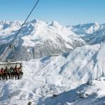 Silvretta Nova,Sankt Gallenkirch,Montafon,Vorarlberg,Austria,Skipisten