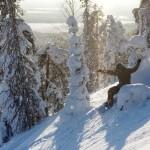 Luosto lumilautailu Lapland hotels