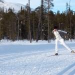 Luosto maastohiihto latu Lapland hotels