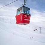Wengen ski lift Männlichen