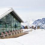 Wengen slopes restaurant