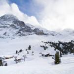 Wengen ski resort slopes