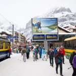 Wengen Grindelwald village train station