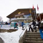 Wengen Grindelwald ski lift station