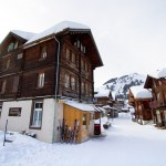 Wengen Mürren alpine village