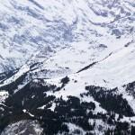 Wengen Mürren hiihtoalue vuoret