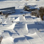 Perisher Blue Slopestyle Park Front Valley