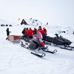 Björkliden snow mobile