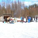 Juupavaara hiihtokeskus laavu