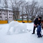 Kitzbühel centre snow elephant