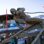 Kitzbühel downhill skier