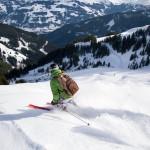 Kitzbühel Pengelstein off-piste skier