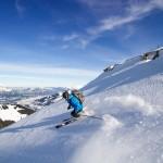 Kitzbühel Steinberg skier