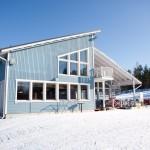 MeriTeijo ski kahvilarakennus