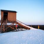 Påminne alppihiihto lähtötorni