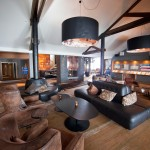 Riksgränsen hotel lobby