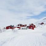 Riksgränsen village