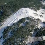 Mielakka hiihtokeskus ilmakuva