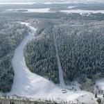 Puijo hiihtokeskus ilmakuva