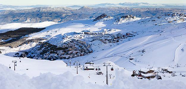 Sierra Nevada - hiihtokeskus
