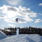 Ski Tornimäki street laskija