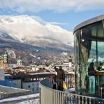 Innsbruck 360 ravintola maisema