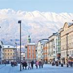 Innsbruck alppikylä katu