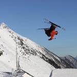 Innsbruck hyppyri hiihtäjä