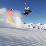 Innsbruck laskettelija tuolihissi