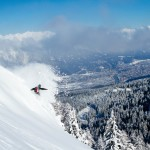 Innsbruck puuteri maisema laskettelu takamaastot