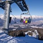Innsbruck tuolihissi hiihtohissi