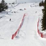 Nopeuslaskurinne salla speed skiing