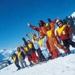 Obertauern lapset hiihtokoulu