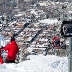 Aspen Snowmass maisema hiihtokylä kylä laskettelu hiihtohissi