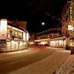 Davos shoppailu afterski hiihtokylä alppikylä