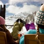 Jackson Hole rinneravintola kalliovuoret hiihtokeskus