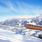 Funikulaari Ellmau laskettelu SkiWelt Wilder Kaiser - Brixental