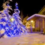 La_clusaz_aravis_alppikyla_hiihtokyla_ilta_after_ski