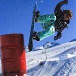 La_clusaz_aravis_lumilautailu_parkki_snow_park_hyppyri